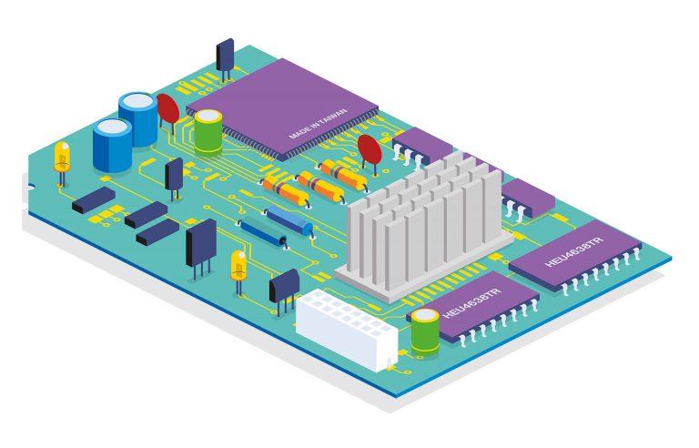 Silicon board