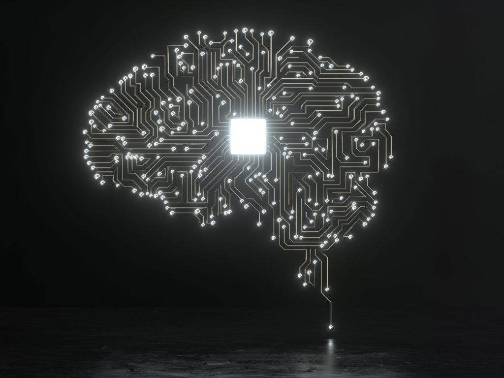 Silicon background