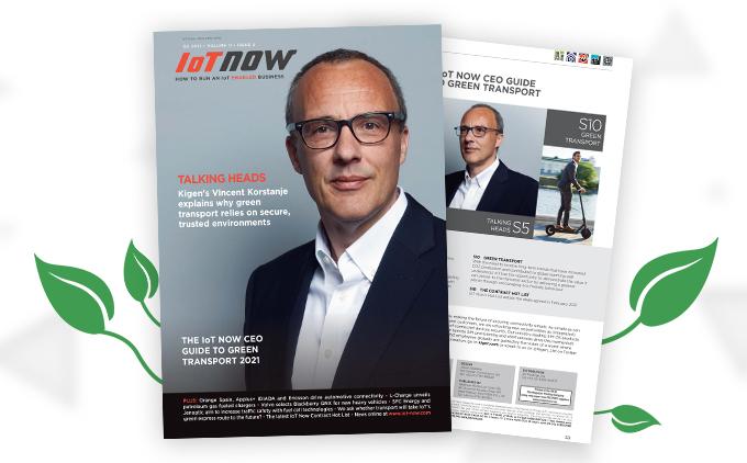 IoTNow report Kigen (Green Transportation)